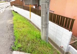ブロック塀+フェンス