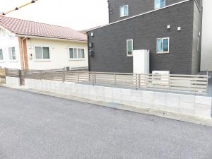 ブロックとフェンス