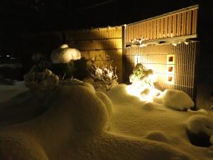 冬の展示場