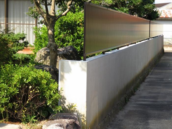 古くなった塀をリノベーション♪