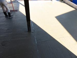 コンクリート 仕上げ作業
