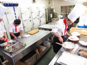 整頓された厨房