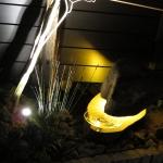 オシャレなエクステリア照明が付きました。松江市A様邸