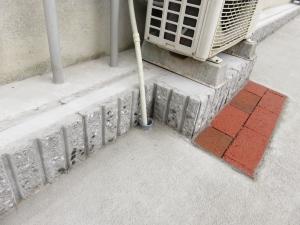 エアコン室外機 排水処理