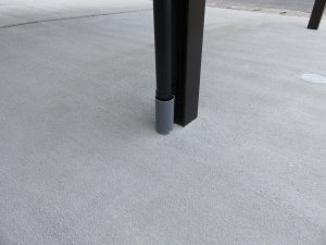 カーポート 雨樋 排水処理