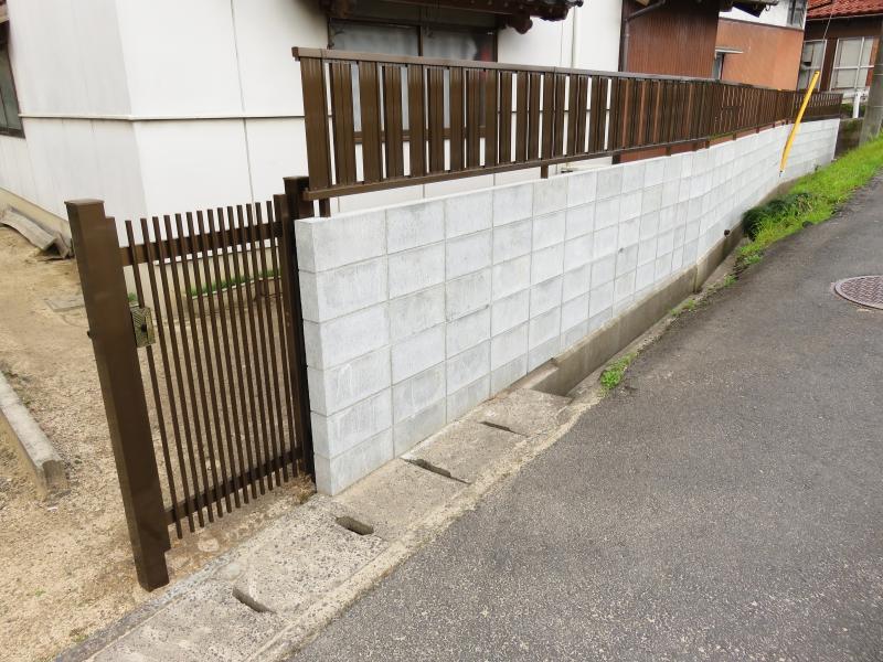 門扉とフェンスのバランス