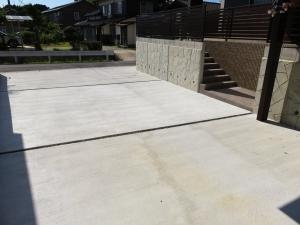 駐車場 土間コンクリート