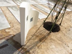 シンボルツリーと門塀