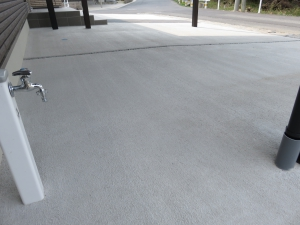 コンクリート 刷毛引き仕上げ