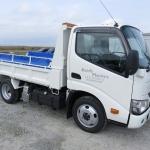 新しい作業用トラックが納車されました。