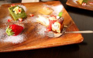 ベイクドチーズケーキ シフォンケーキ