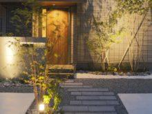 門塀と植栽
