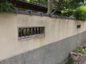 木製の風窓を再利用