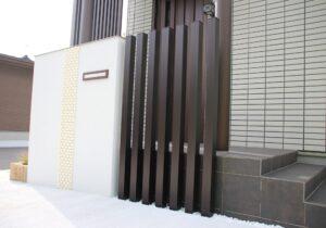 門塀 角柱